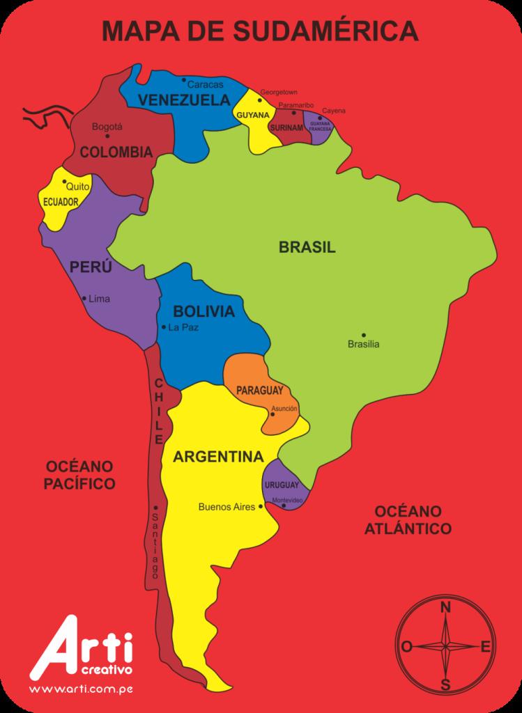 Resultado de imagen para sudamerica